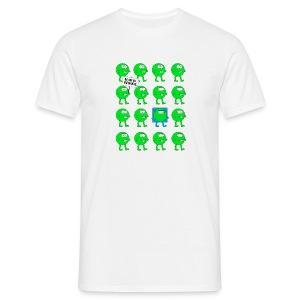 We are all green dots! - Männer T-Shirt