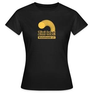 Zini lebt! - Girls - Frauen T-Shirt