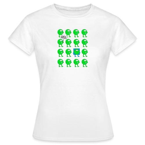 We are all green dots! - Girls - Frauen T-Shirt