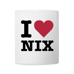 I LOVE NIX - Tasse - Tasse