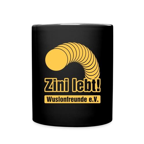 Zini lebt! - Tasse - Tasse einfarbig