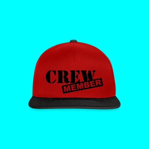 CREW MEMBER cap - Snapback Cap