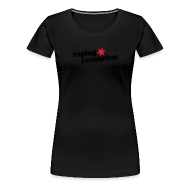 Tee shirts ~ T-shirt Premium Femme ~ Vaping revolution