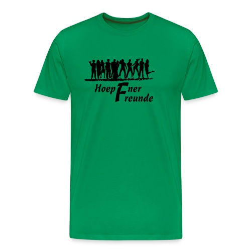 Hoepfner Herren-Shirt 2016 -- schwarze Schrift - Männer Premium T-Shirt