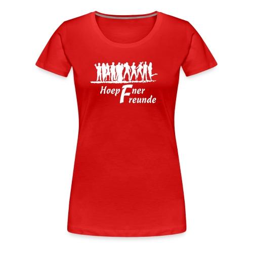 Hoepfner Lady-Shirt 2016 -- weiße Schrift - Frauen Premium T-Shirt