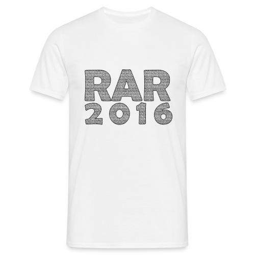 RaR 2016 - LineUp - Männer T-Shirt