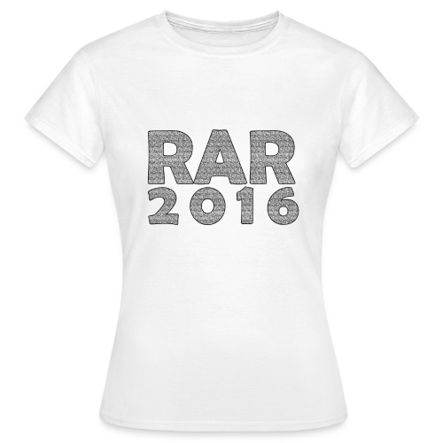 RaR 2016 - LineUp Girlie - Frauen T-Shirt