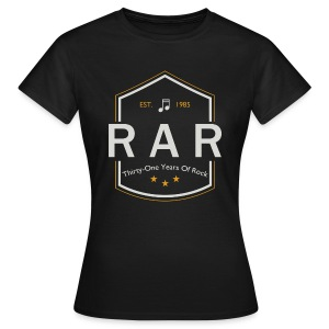 RaR Years of Rock - Girlie - Frauen T-Shirt
