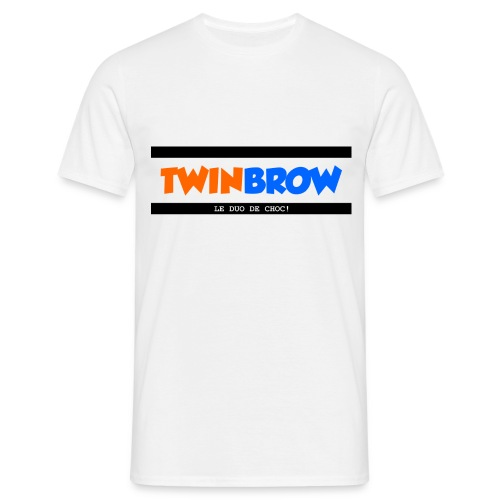 TWINBROW - LE DUO DE CHOC ! - T-shirt Homme