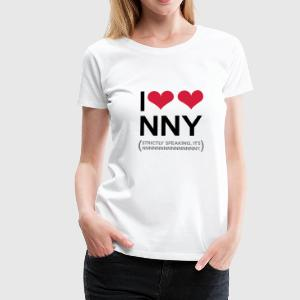 I love New New York - Frauen Premium T-Shirt