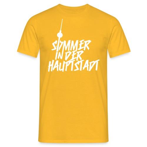 Sommer in der Hauptstadt T-Shirt Orange - Männer T-Shirt