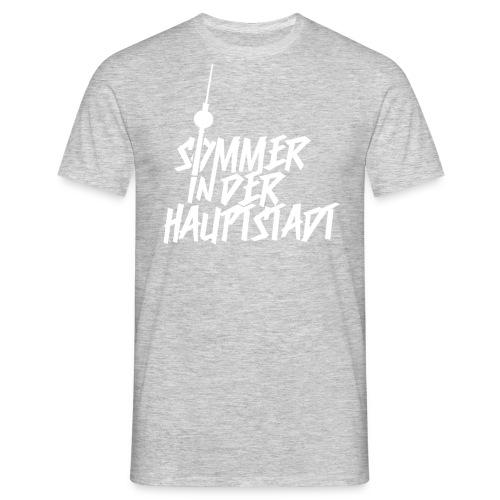 Sommer in der Hauptstadt T-Shirt Grau - Männer T-Shirt