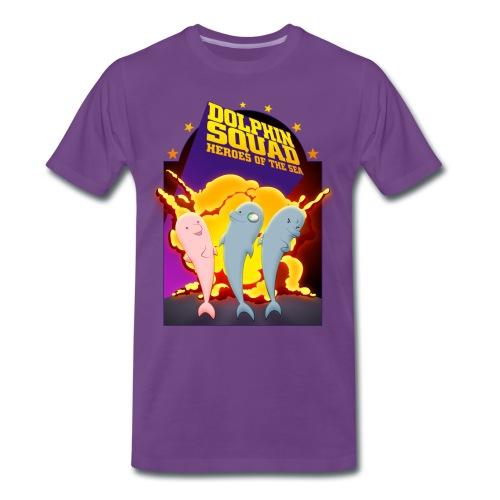Dolphin Sqaud Explosion - Men's - Men's Premium T-Shirt