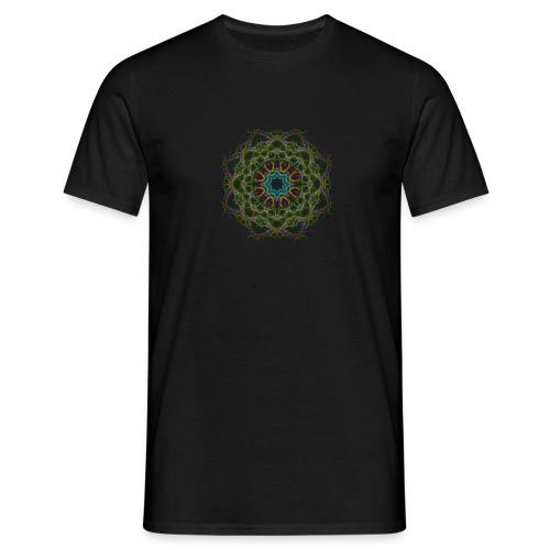 Mandala Shirt - Männer T-Shirt