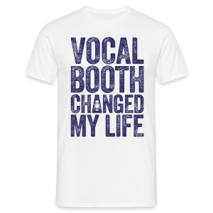 Vocal Booth Changed My Life 2016. LIGHT TEE - Men's T-Shirt