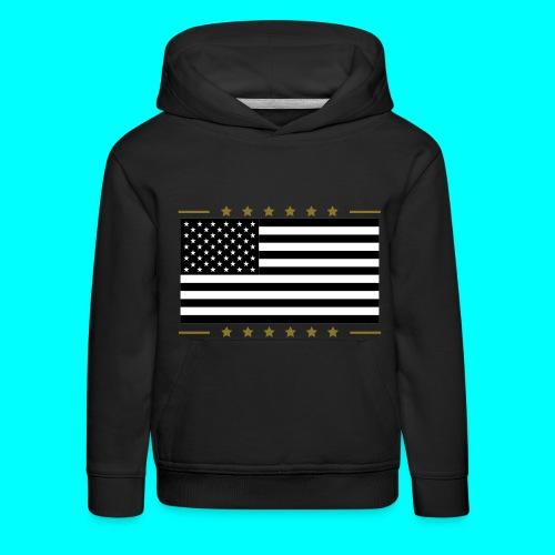 USA hoodie - Premium hættetrøje til børn