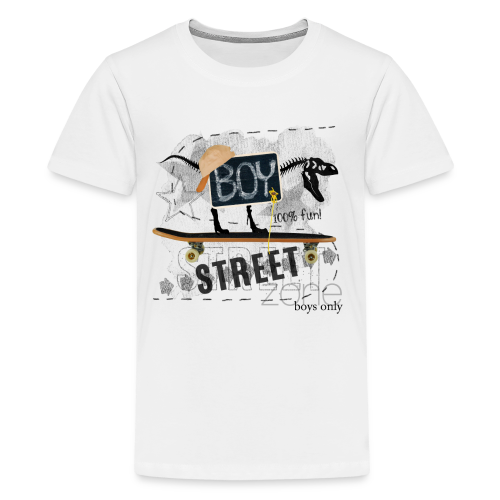 T-shirt street boy - T-shirt Premium Ado