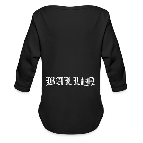 Back Ballin - Organic Longsleeve Baby Bodysuit