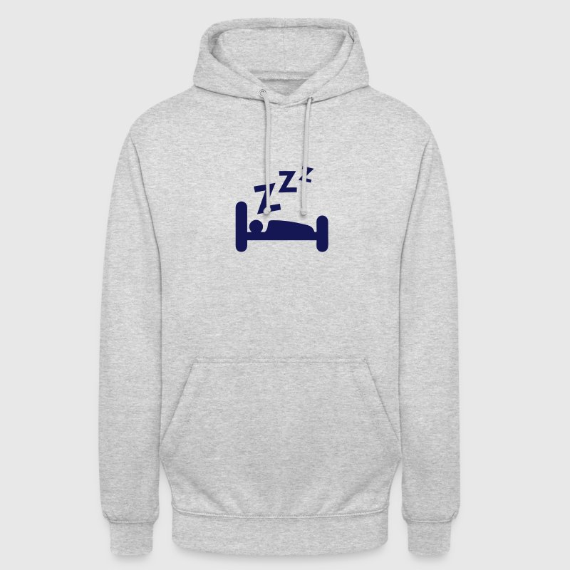 dormir zzz icone sommeil 704 Sweat-shirts - Sweat-shirt à capuche unisexe