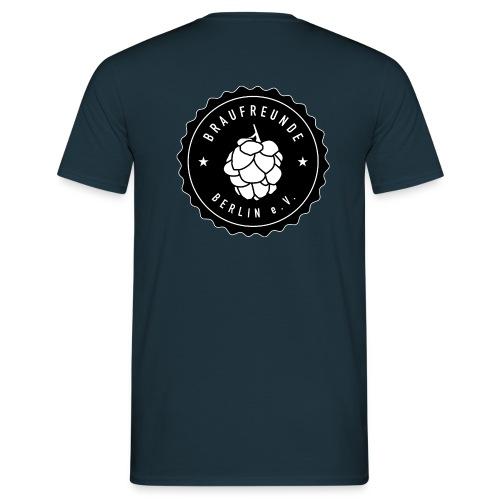 Männer T-Shirt (Logo auf Rückseite) - Männer T-Shirt