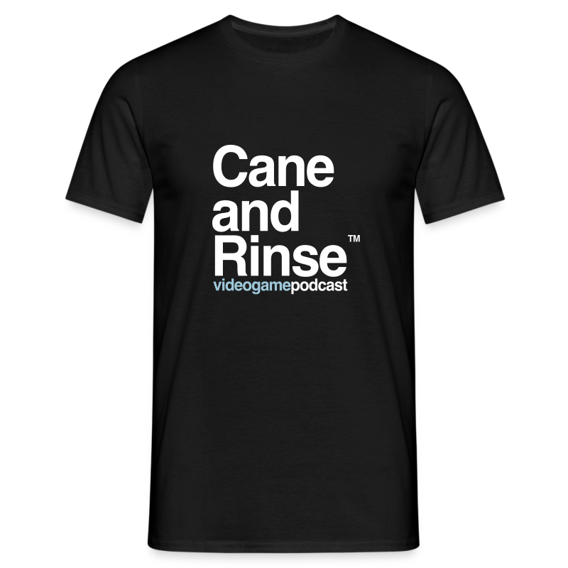 Cane and Rinse logo Black - Men's T-Shirt