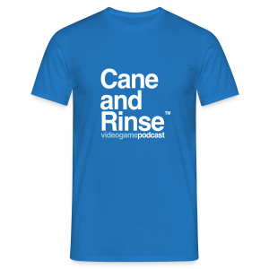 Cane and Rinse logo Blue - Men's T-Shirt