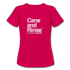 Cane and Rinse logo Ruby Red T - Women's T-Shirt