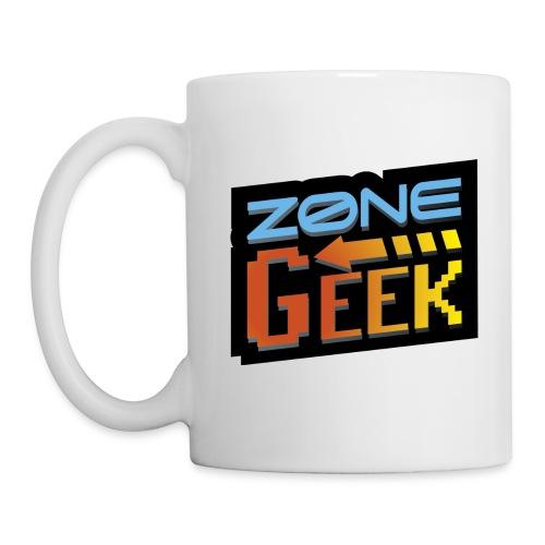 NEW Logo Tasse - Mug blanc