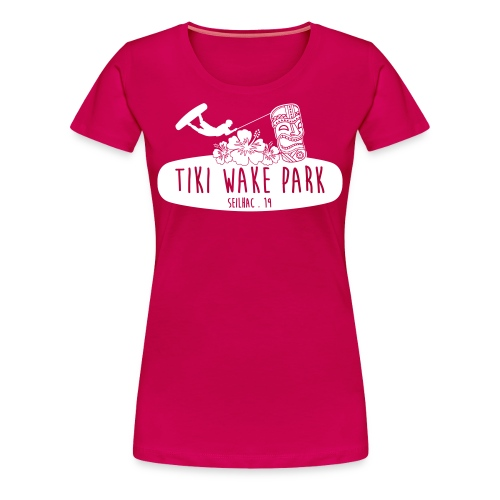 tshirt femme tiki - T-shirt Premium Femme