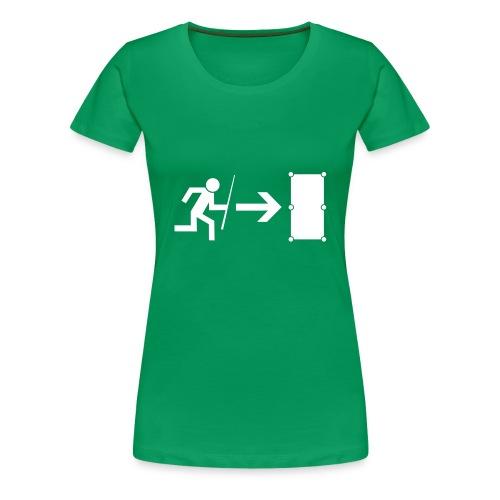 Billiard Emergency  - Frauen Premium T-Shirt