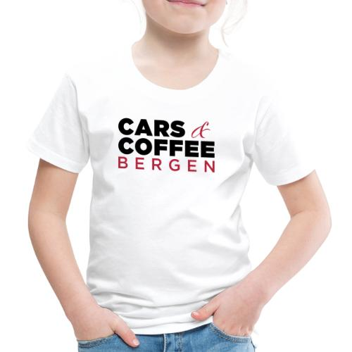 Cars & Coffee Bergen Premium T-skjorte for barn - Premium T-skjorte for barn