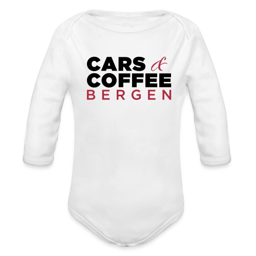 Cars & Coffee Bergen Baby langermet body - Økologisk langermet baby-body