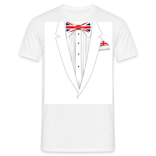 Union Jack Bow-Tie T-Shirt - Men's T-Shirt