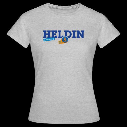 HELDIN in Ausbildung (Frauen) - grau - Frauen T-Shirt