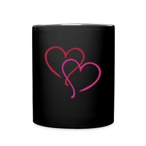 Love heart mug - Tasse en couleur