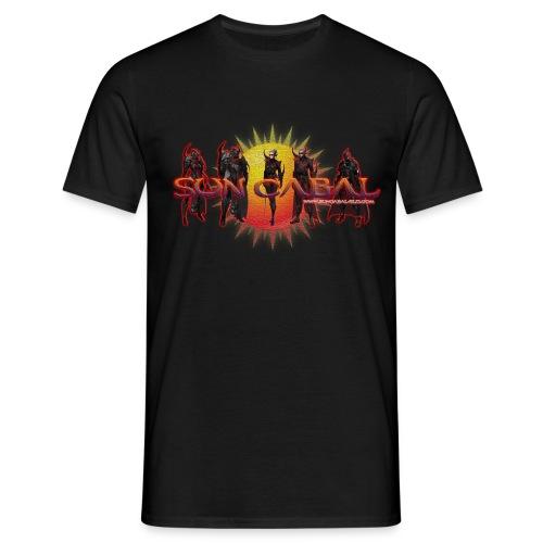 Sun Cabal T-Shirt [Battle Mode 3 logo] - Men's T-Shirt