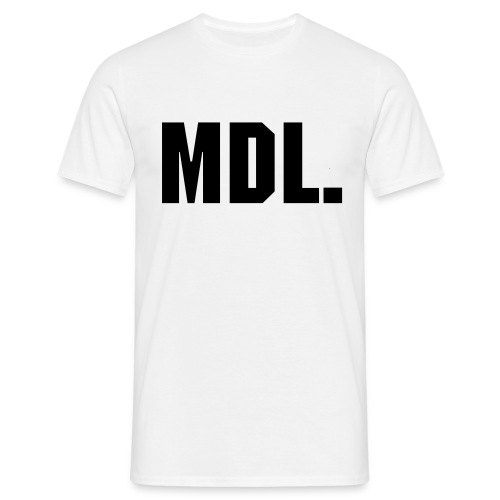 MDL White T-Shirt Mens - Men's T-Shirt