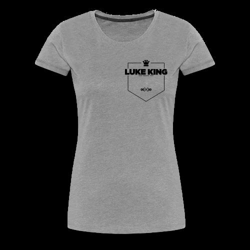 DVO - 'Royal' - Black - Women's T-Shirt - Women's Premium T-Shirt