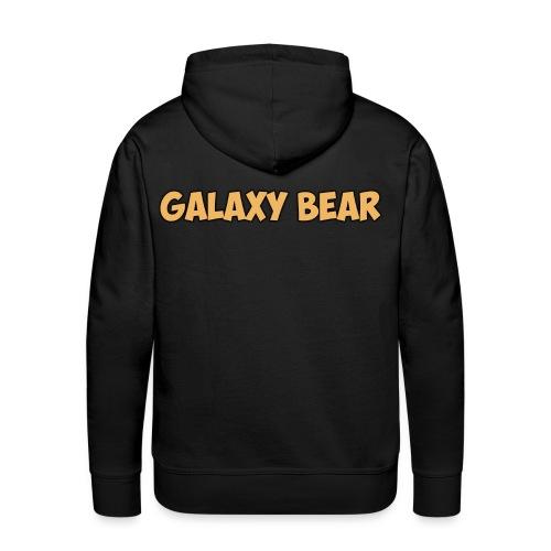 Galaxy Bear Gold Edition Hoodie - Men's Premium Hoodie