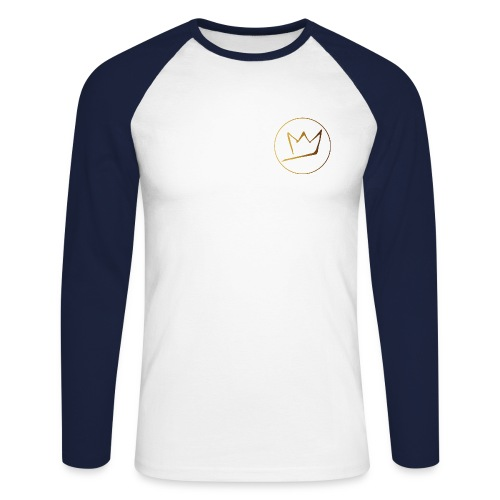 T-Shirt manches longues HIGHNESS Coeur - T-shirt baseball manches longues Homme