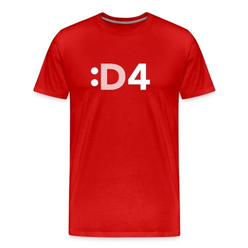 D4 Tee Shirt - Men's Premium T-Shirt