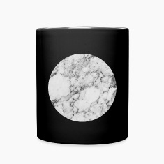 AD Silver Moon Marble Mugs & Drinkware