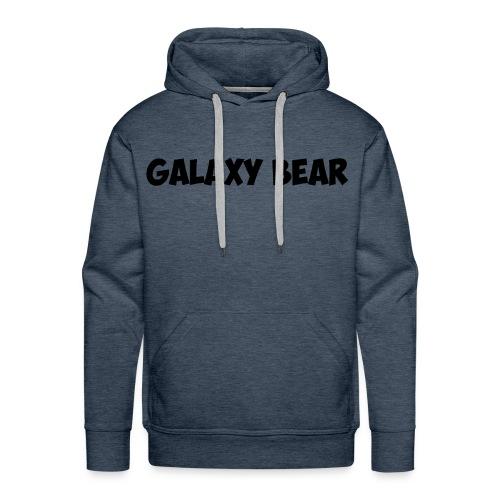 Galaxy Bear Standard Green Hoodie - Men's Premium Hoodie