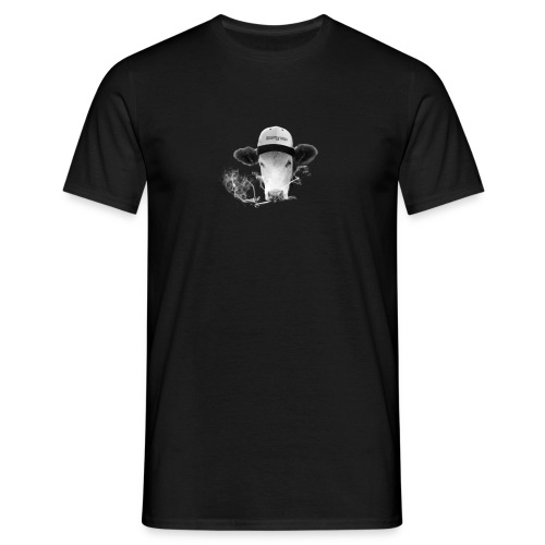 Smoking Cow Tshirt Herren - Männer T-Shirt