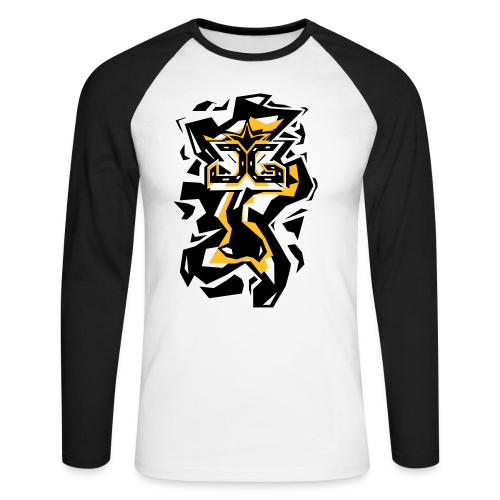 [JG-Designs] Male Long Sleeve Shirt   - Men's Long Sleeve Baseball T-Shirt