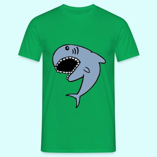 Hai T-Shirt für Männer - Männer T-Shirt