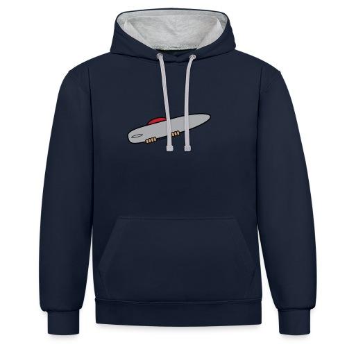 Surfer men's hoodie - Contrast Colour Hoodie