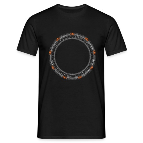Orange Portal - Men's T-Shirt
