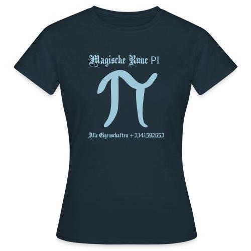 Rune Pi Nerd T-Shirt - Frauen T-Shirt