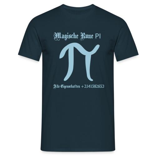 Rune Pi Nerd T-Shirt - Männer T-Shirt
